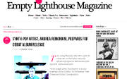 Thumbnail of Empty Lighthouse website