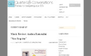 Thumbnail of Quarter Life Conversations website