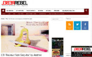 Thumbnail of Rebel Rebel website